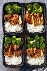 Weekly Lunch Prep 20 Minute Meal Prep Chicken Rice And Broccoli