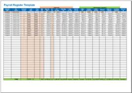 excel payroll template free payroll register template in excel