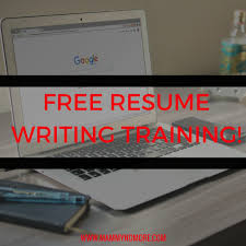 Free Resume Writer Free Mini Resume Writing Course Mammy No More 2