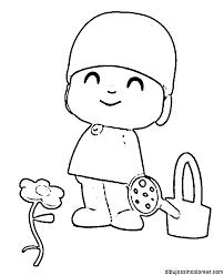 Small Picture Dibujos Pocoyo Para Colorear E Imprimir AZ Dibujos para colorear