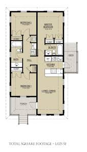 Cottage Style House Plan   3 Beds 2.00 Baths 1025 Sq/Ft Plan #536