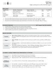 Resume Samples For Freshers Engineers Sample Resume Fresher Full