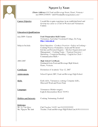 7 curriculum vitae no work experience event planning template example of cv no work experience