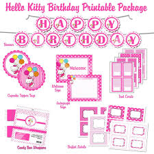 Hello Kitty Invitation Printable Free Printable Hello Kitty 1st Birthday Invitations Invitetown