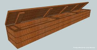 storage bench plans. Plain Bench How To Build A Deck Storage Bench Final Product With Storage Bench Plans G