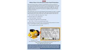 Overload Charts Motor Protection Motors Motor Circuits And Controllers Part Ix Nec Article