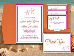 wedding accommodations template starfish wedding pocketfold template beach wedding invitation