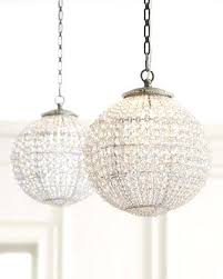 stylish crystal ball chandelier sparkling floating pendant 3 sizes large light crystal ball chandelier