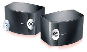 bose grey speakers. bose 301 series v compact speakers - front view. grey