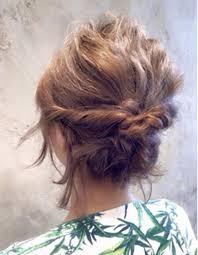 簡単ヘアアレンジ ボブse203 ヘアカタログ髪型ヘアスタイル