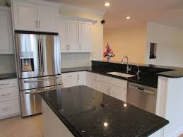 Emerald Pearl Granite Kitchen Timeless White Cabinet Kitchen With Emerald Pearl Granite Tops