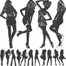 Black Girl Silhouette Free Vector Download 14753 Free Vector For