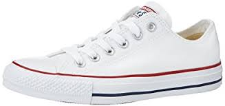 converse womens. converse unisex chuck taylor all star low top sneakers optical white, us men\u0027s 7.5 / womens