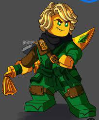 AMAZING Lloyd in season 11 suit. Credit to Artist, SPEEDYTHECAT on  Pinterest.: Ninjago