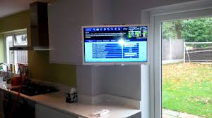 Tv In Kitchen Kitchen Tv Wall Mount Youtube