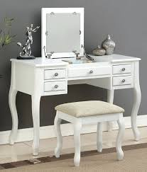 Vanity Table With Mirror And Bench Full Size Of Bedroom Vanity Table ...
