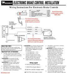 prodigy brake controller diagram images tekonsha prodigy brake electronic trailer brake controllers