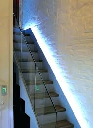 Stairway lighting fixtures Extra Large Foy Stair Syncmotion Stair Light Ideas Floating Staircase Lighting Stairwell Light Ideas