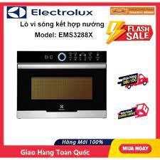 Lò vi sóng Electrolux EMS3288X (32 lít kết hợp nướng và đối lưu) tại TP. Hồ  Chí Minh