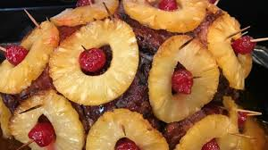 cooked ham with pineapple. Modren Pineapple Photo Of Ham With Pineapple By NODIETSFORME For Cooked With S