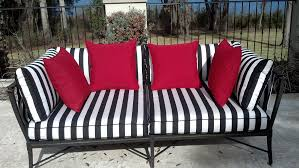 wonderful black and white striped patio furniture gallery best