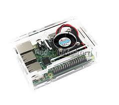 Купить Прозрачный корпус с кулером для <b>мини ПК Raspberry</b> Pi ...