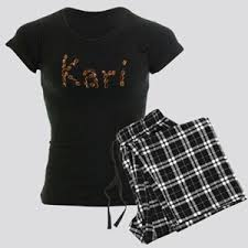 Female Name Kari Pajamas - CafePress