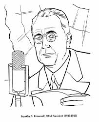 Small Picture Bluebonkers US Presidents coloring pages President Franklin