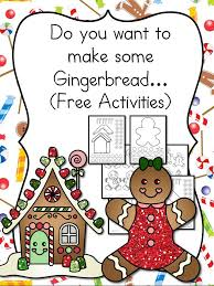 Gingerbread Man Cutout Template - and Lesson Plan! | Preschool ...