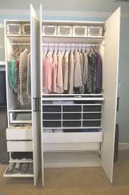 90 Best Ikea Closets Images On Pinterest In Addition To Interesting Open  Wardrobe Ikea (View