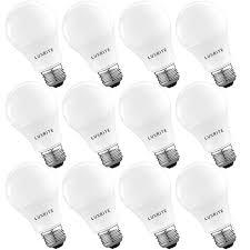 5000k Led Light Bulbs Luxrite A19 Led Light Bulb 60w Equivalent 5000k Daylight White Dimmable 800 Lumen Standard Led Bulb 9w E26 Base Energy Star Enclosed Fixture