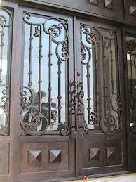 wrought iron front doorsHand Forged Wrought Iron Entry Doors  Opinions or Experiences