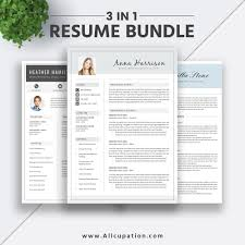 2019 Best Selling Resume Bundle The Anna Rb Word Resume Template Cv Bundle Cv Layout Cover Letter Professional Creative Simple Resume Instant