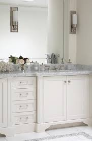 carrara marble countertop. White And Gray Bathroom With Carrara Marble Countertops Countertop