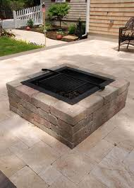patio with square fire pit. Square-fire-pit-cape-cod-chapin Patio With Square Fire Pit A