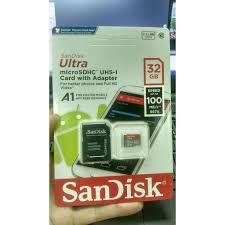 Thẻ Nhớ 32GB Sandisk Tốc Độ 3.0 Hỗ Trợ Quay Video 4K giá cạnh tranh
