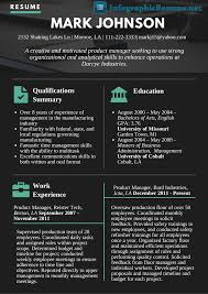 Product Management Resume See This Product Manager Infographic Resume To See Just How Better 47