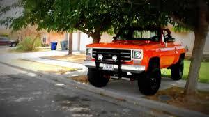 orange chevy 1978 - YouTube
