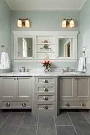 paint bathroom cabinets diy gray