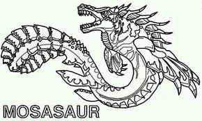 Sea Monsters Coloring Pages Printable Coloring Pages Monster