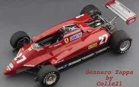 1982 ferrari 126 c2 in turbo time, 1983. Ferrari 126 C2 Turbo By Gennaro Zappa Colle 21