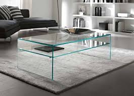 all glass coffee table modern style
