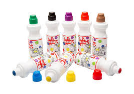 scola chubbie paint markers 8 assorted