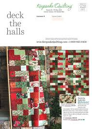 Keepsake Quilting - Special Sale Edition & Contents of this Issue Adamdwight.com