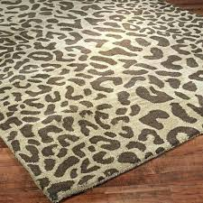 leopard print area rug brown zebra print area rug animal print area rugs hand tufted modern