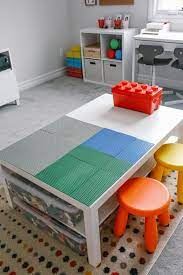 At under $10 for an entire table, there's almost no risk in. Easy Diy Lego Table Hack Simply Every