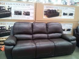 with cool furniture leather loveseat costco stunning home with cool costco leather cheers clayton sofa redglobalmxorg jpg