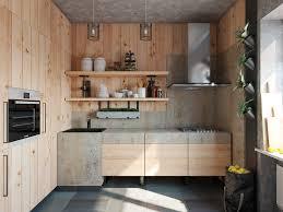 Kitchen Designs: Natural Wood Kitchen - Modern Kitchens