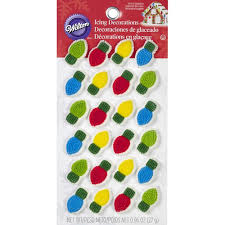 Candy Decorations Light Bulb Candy Decorations Wilton