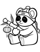 Reuze Panda Kleurplaten Gratis Printbare Kleurplaten